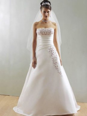 Vestidos linea a de novia
